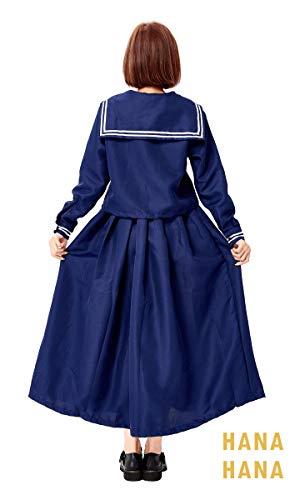 M:ハロウィンコスプレセーラー服スケバンセーラー制服長袖長袖ロングスカート3点セットセーラー衣装大きいサイズ仮装ハロウィン衣装コスチュームハロウィーンスケバンコスプレ