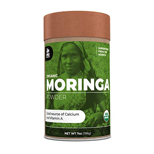 OMG! Superfoods Organic Moringa Powder - 100% Pure, USDA Certified...