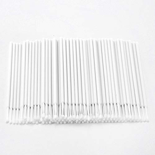 Ssg 100PCS Tattoo Cotton Swab Lint Fournitures Brosse Microblading Micro Brosses Applicateur Tattoo Accessoires for le maquillage Nouveau (Color : White)