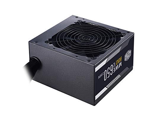 Cooler Master MWE 650 Bronze 230V V2 - Unità Alimentazione EU, 80 PLUS Bronze, Ventola HDB con Controllo Termico, Convertitore DC-to-DC + LLC con Single +12V Rail