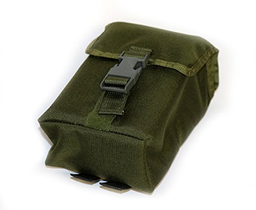 ESEE - Large Tin Survival Kit and Pouch - OD Green