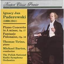 Paderewski: Piano Concerto in A Minor, Op. 17; Fantaisie-Polonaise, Op. 19