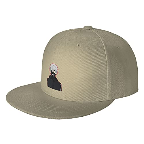 'N/A' Sombrero unisex de Hip Hop de Tokio Ghoul Hip Hop de ala plana