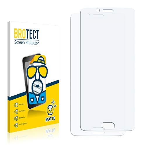 BROTECT 2X Entspiegelungs-Schutzfolie kompatibel mit Doogee Shoot 1 Bildschirmschutz-Folie Matt, Anti-Reflex, Anti-Fingerprint