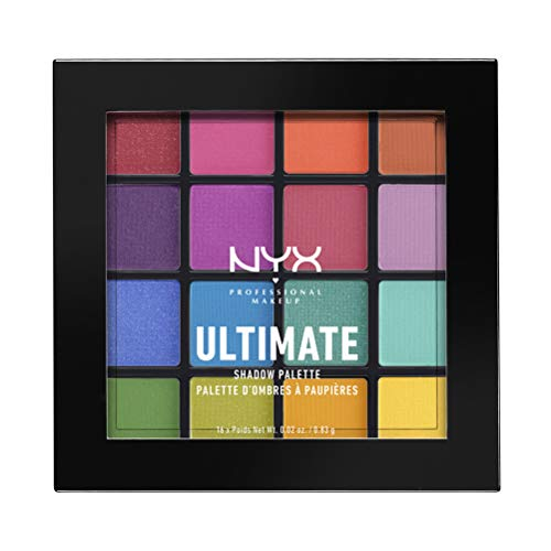 NYX Professional Makeup Ultimate Shadow Palette Brights - 0.02oz