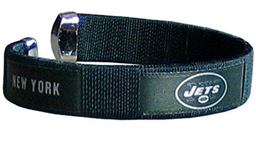 Siskiyou Official NFL Fan Fashion Band Bracelet (New York Jets)