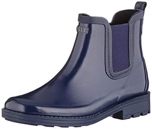 Aigle Carville, Bottes & Bottines de Pluie Femme, Bleu (Indigo 001), 36 EU