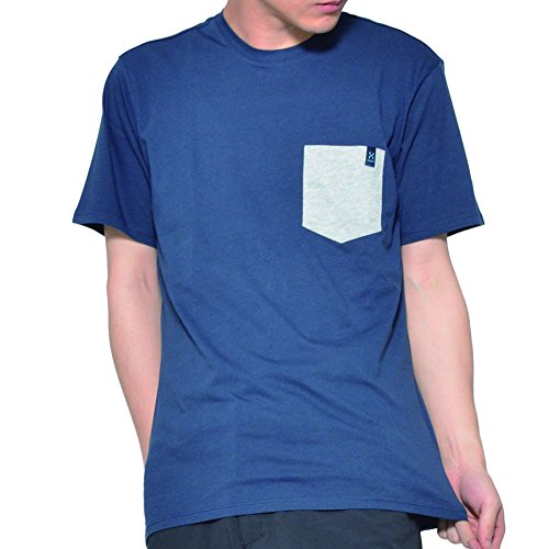 Haglöfs Mirth Tee T-Shirt Homme, Camouflage Bleu, s
