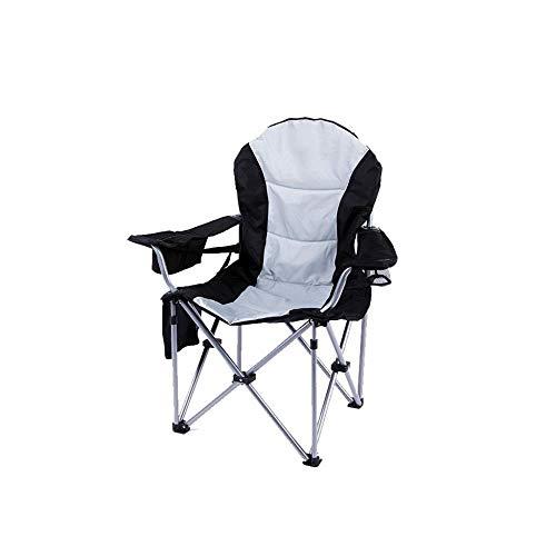 Draagbare campingstoel, voor gemakkelijk transport en goede draagbaarheid.