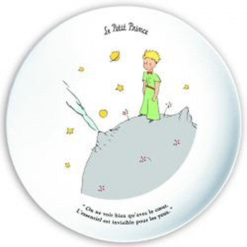 Plat à tarte Le Petit Prince sur sa planète\