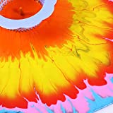Leinuosen 3 Stück Acryl Gießen Siebe Kunststoff Silikon Sieb Blume Ablassen Korb Acryl Malen Gießen Vorräte - 6