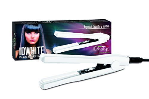 IDEWHITEMINI Italian Design Plancha de pelo - 1 Plancha de pelo, color blanco