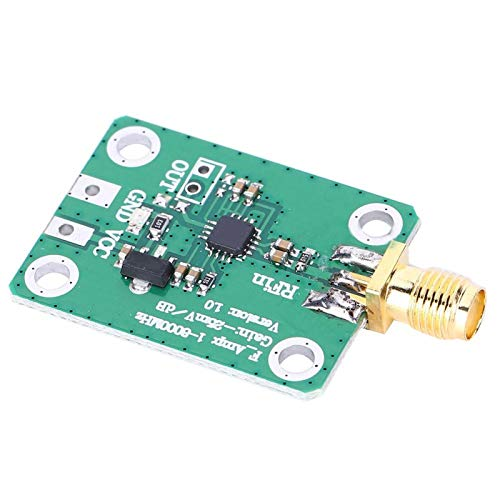Metal Logarithmic Detector, Radio Frequency Detector, signal strength indication RSSI gain control RF signal detection for spectrum analyzer