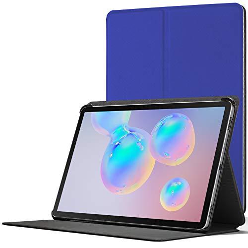 Forefront Cases Custodia per Samsung Galaxy Tab S6 10.5-2019 - Samsung Galaxy Tab S6 Cover - Sottile, Compatibile con S-Pen, Funzione Sleep-Wake - Blu Reale – Solo per: SM-T860 WiFi, SM-T865 LTE