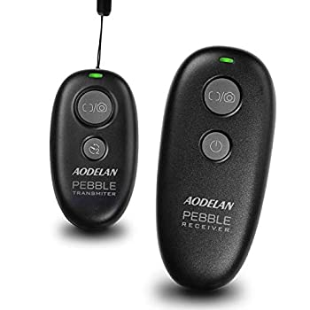 Camera Remote Wireless Shutter Release for Canon EOS RP Rebel T6 T7 SL2 5D Mark II 6D Mark II 7D Series 5D Series  for Fujifilm X-T3  for Olympus OM-D E-M1 Mark II  for Pentax K-1 Mark II