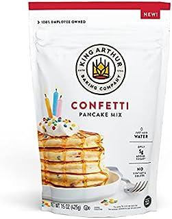 King Arthur, Confetti Pancake Mix, Sourced Non-GMO, Certified Kosher, 15 Oz