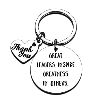 Boss Keychain Gifts for Women Men Lady Boss Leaders PM Supervisor Mentor Manager Christmas Birthday Boss Day Valentine Retirement Leaving Thank You Gifts Office Keychain for Him Her Coworker