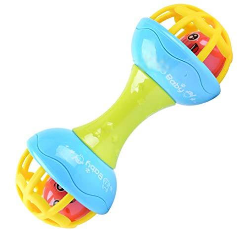 Swiftswan Baby Weiche Fitness Ball Baby Beruhigende Rassel Hand Ball Spielzeug Geschenk Früherziehung Puzzle Hantel Rassel