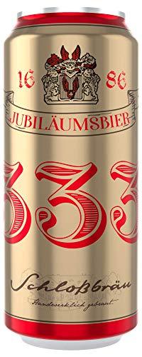 Deutsche Bierspezialitäten in der Dose (24 x 0,5l Schlossbräu Rheder Jubiläumsbier 333)