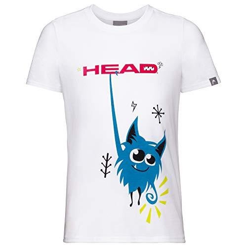 Head 816250-Wh 128 Camiseta, Niños, Azul Oscuro, XS