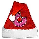 Photo de Chapeau de Père Noël unisexe I Love Ny en peluche rouge et blanc - - Small