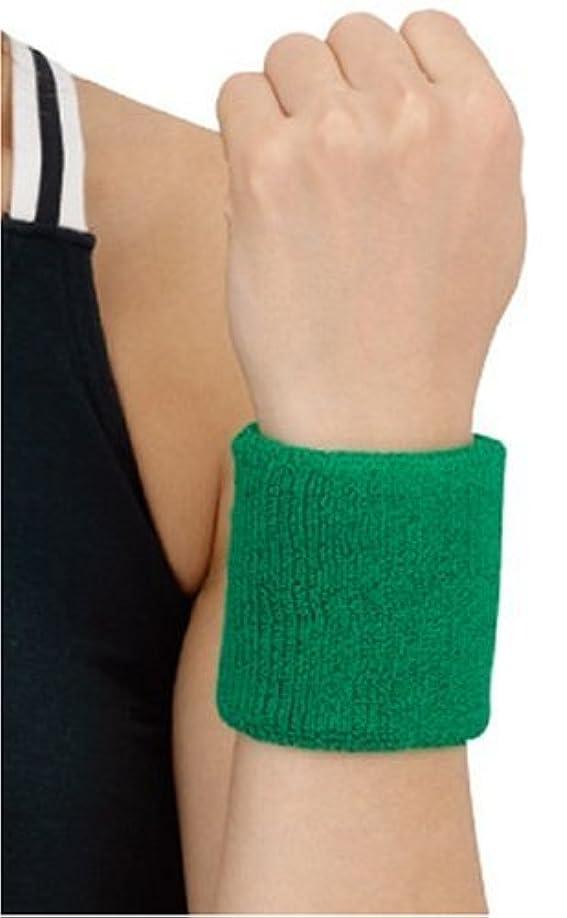 誰投資全くD&M(ディーアンドエム) リストバンド [ WristBand ] 手首用 グリーン #240GRN グリーン フリー