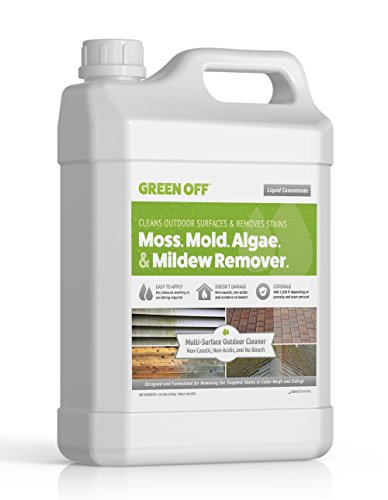 Green Off | Mold and Mildew Remover - Also Removes Moss and Algae | Perfect for Wood...