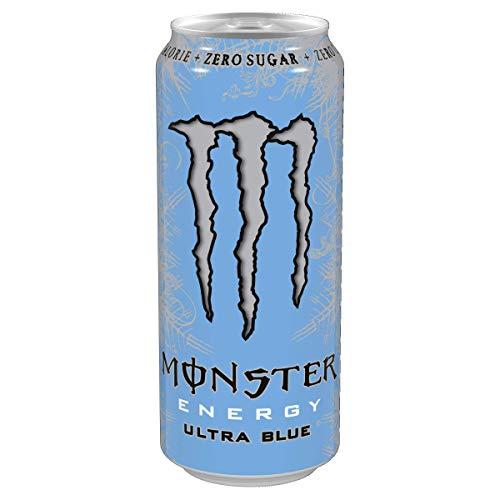 Monster Energy Ultra Blue, energy drink alla frutta da 458 ml