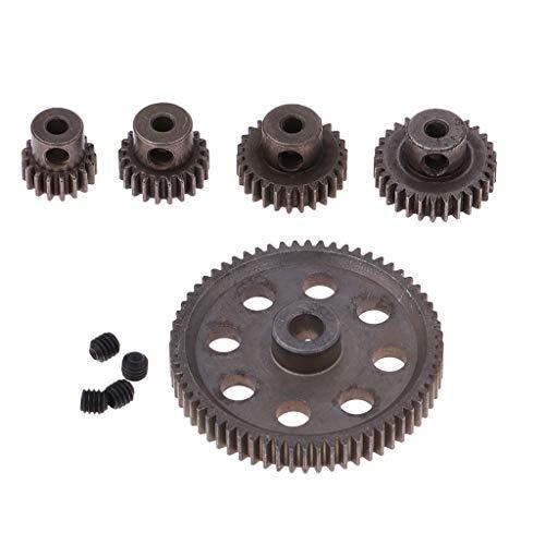 Sharplace Motor Zahnräder Differentialgetriebe Ersatzteile für 1 /10 HSP RC Auto, 17T 21T 26T 29T 64T