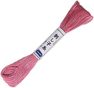 Olympus OS-13 Sashiko Thread 20m Skein Rose Pink Faden, baumwolle