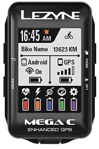 LEZYNE Mega C GPS computadora de Bicicleta