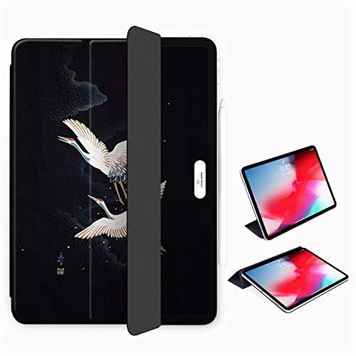Funda para iPad Pro 11 Pulgadas 2018/2020, Respaldo Magnético Inteligente Ultra Delgado, Cubierta Protectora De Soporte Triple [Admite Carga De Lápiz De Apple]