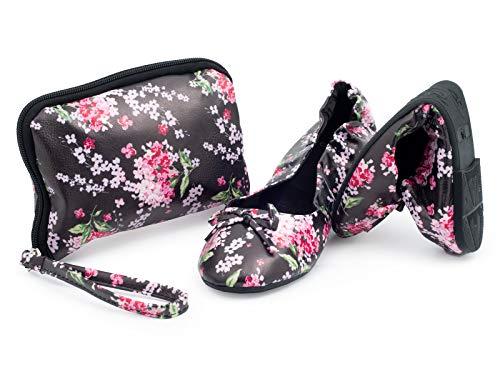 CATMOTION Night Flower Faltbare Schuhe, M (38/39 EU, 5/5.5 UK)