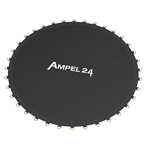 Ampel 24, Tappeto da Salto per telone Elastico con Un Diametro di 4,60m | 108 Occhielli | Cucitura decupla | Resistente | capacità Massima 160kg