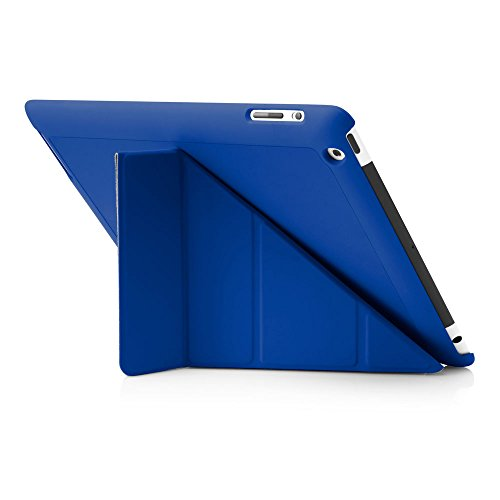 Origami Pipetto Funda para iPad 2/3/4 - Azul
