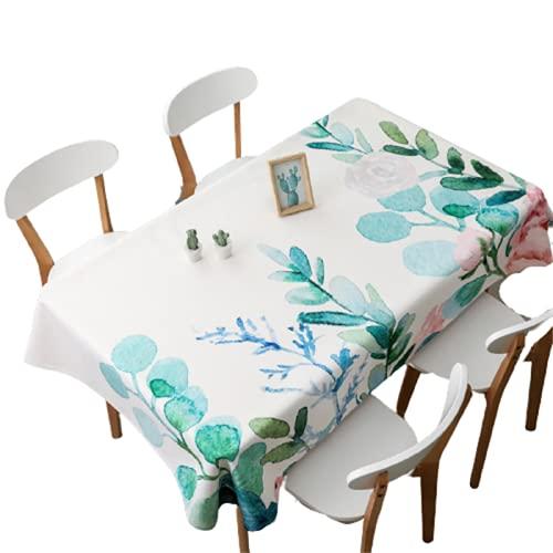 Hogar Cafetería Mesa De Café Mantel Poliéster Impermeable Rectangular Mantel De Cocina Interior Y Exterior Mesa Cuadrada Sala De Estar Decoración De Jardín Navidad Fiesta De Halloween 85x85cm