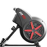 Fitfiu Fitness Fitfiu-Remo RA-100 Magnet- und Luftwiderstand, Crosstraining und Cardio, Erwachsene, Unisex, Schwarz, 115 x 25 x 77 - 5