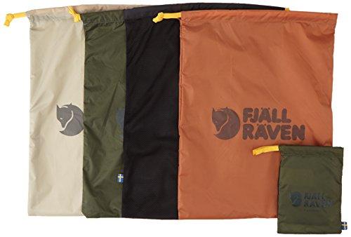 Fjällräven packpåsar (set med fyra väskor) – jord, 30 x 40 cm