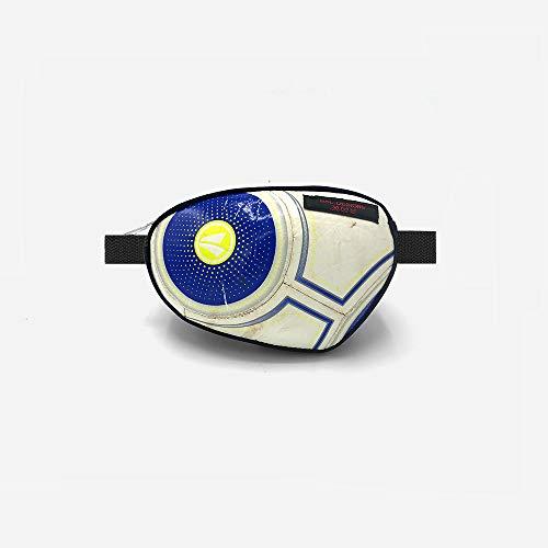 Bauchtasche recycling weiß blau Fußball Unikat er sportlich Jugendtliche Umhängetasche