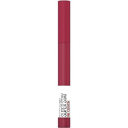 Maybelline New York Rossetto Matita SuperStay Ink Crayon, Colore Matte a Lunga Tenuta, 75 Speak Your Mind, Confezione da 1