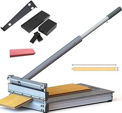 MantisTol 13'' Laminate Flooring & Siding Cutter MC-330 with Installation Kit Gifts; For Pergo, Wood, Siding, Vinyl...