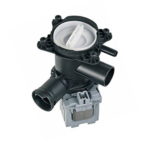 Europart 10029653 Ablaufpumpe Laugenpumpe Wasserpumpe Pumpe Pumpenstutzen Flusensieb Waschmaschine Original Askoll passend wie Bosch Siemens 00145777 145777