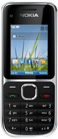 Nokia C2-01 - Móvil Libre (Pantalla de 2', cámara 3.2 MP, 64 MB de RAM), Negro