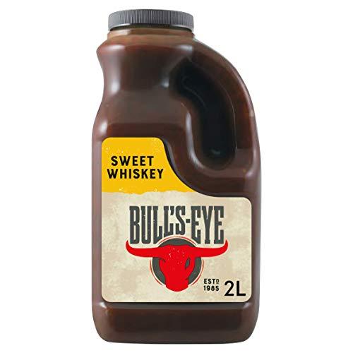 Bull's-Eye Salsa Barbacoa Sweet Whiskey envase 2lt