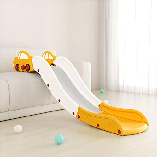 YILANJUN Children's Slide, Small, Multi-scene, Freestanding Slides for Toddlers Childrens Kids Toddler, Toy Playground Garden Indoor Play Climbing, Blue, Pink and Yellow