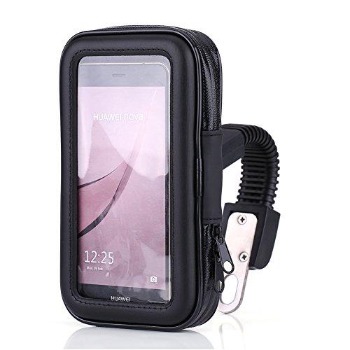 Actualizar Soporte para teléfono de motocicleta Reemplazo de accesorios para automóvil Soporte de montaje para teléfono a prueba de agua Soporte para teléfono de bicicleta Estuche para teléfono Funda
