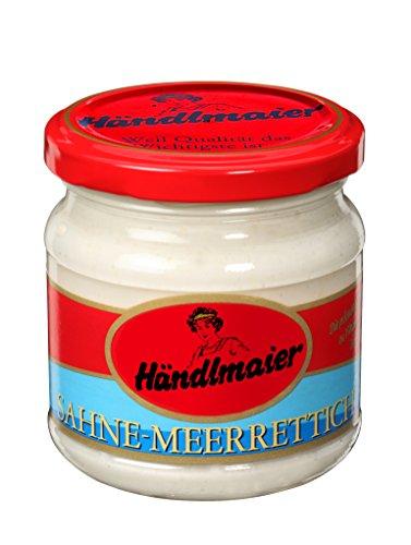 Händlmaier's Sahnemeerrettich Glas , 10er Pack (10 x 190 g)