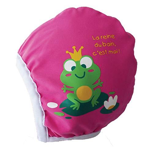 Piwapee–Berretto di Bagno Bambino Nuotatore Rosa Rainette rosa rosa lampone 3-6M ( TT44)