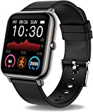 Smart Watch,Fitness Tracker For Teléfonos Android,Rastreador De Fitness con Ritmo Cardíaco Y Monitor De Sueño,Rastreador De Actividades con IP67 Pedómetro Impermeable Smartwatch con Contador De Pasos