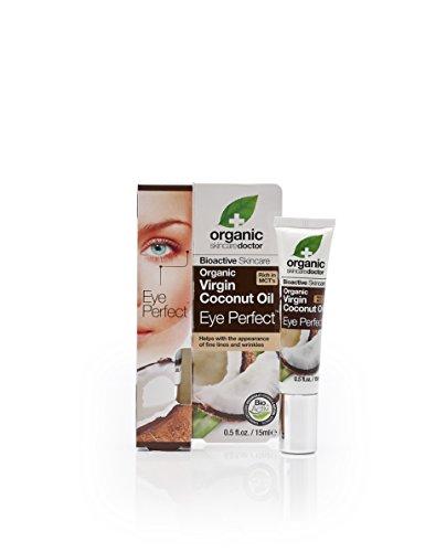 Contorno de ojos de aceite de coco, de Dr. Organic